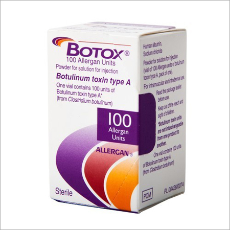 Botox 100 IU Injection