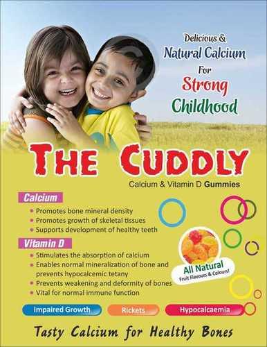 Calcium With Vitamin D Gummies