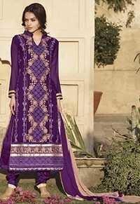 Glamorous Elegant Purple Straight Cut Suit