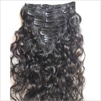 Unprocessed Curly Human Hair,clip In