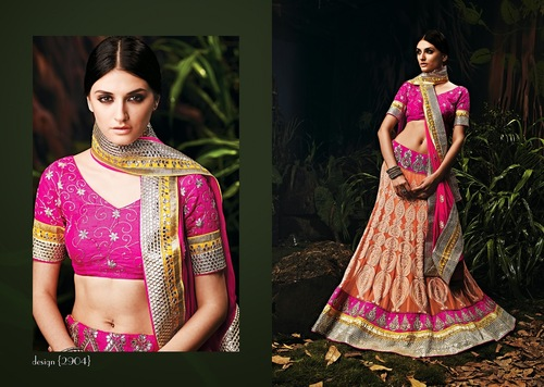 Indian Simple Marriage collection Of Lehenga Cholie at Wholesale rate from Wholesaler