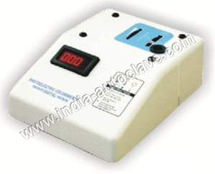 Photo Electric Colorimeter, Digital