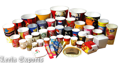 PAPER CUPS & PLATES