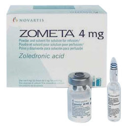 ZOMETA 4mg Injection, Zoledronic Acid