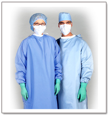 Coverall Surgical Gown