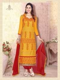 Fancy Cotton Suit for Ladies