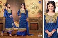 Latest party wear printed salawar kamiz
