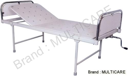 Hospital Semi Fowler Bed(SS Bows laminated  Panel)