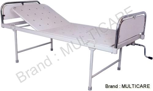 Hospital Semi Fowler Bed(SS Bows laminated  Panel)