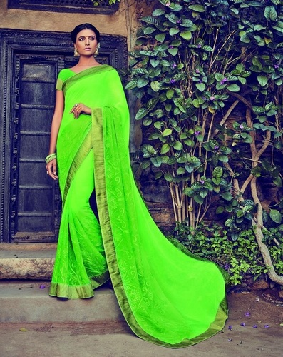 Shopping fancy saree