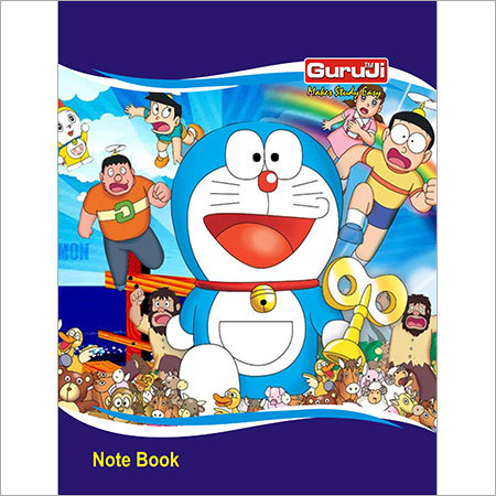 Cartoon Paper Notebook