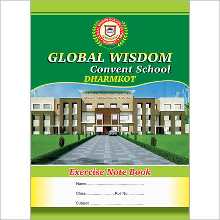 School A4 Notebook