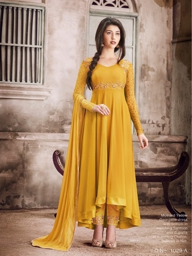 Stylish Anarkali Suits With Handwork