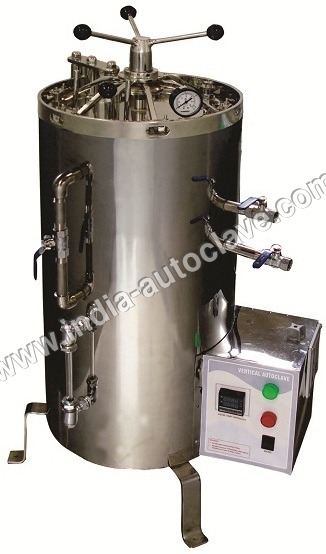 Triple Walled Vertical Autoclave