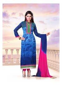 Stylish  casual fancy salwar suit