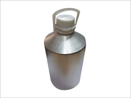 Aluminum 10 ltr bottle