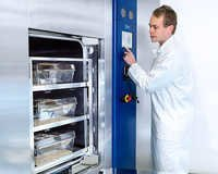 Sterilizers for cages and racks