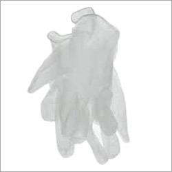 White Vinyl Gloves