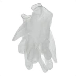 White Vinyl Gloves
