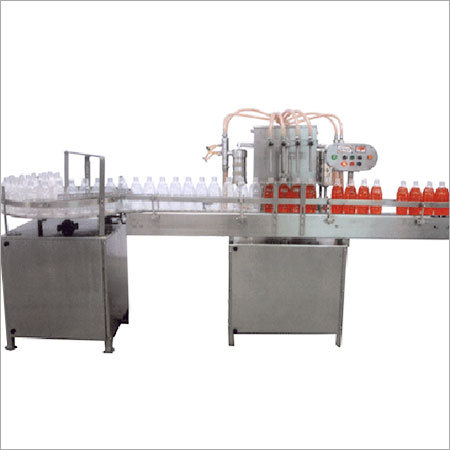 Fully Automatic Filling Machine with Conveyor
