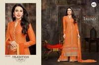 Eid Special Orange Plazzo By Karishma Kapoor