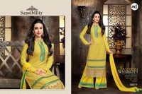 Eid Special Yellow  Plazzo By Karishma Kapoor