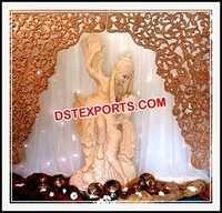 Wedding Radha Krishan Fiber Statues