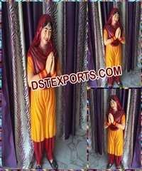 Punjabi Lady Welcome Statue