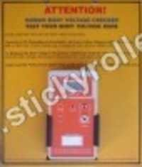 Human Body Voltage Checker (SC-02)