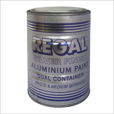 Silver Finish Aluminum Paint