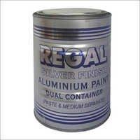 Silver Finish Aluminum Paint