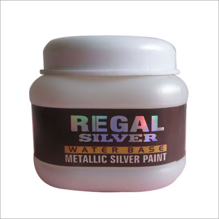Water Based Metallic Silver Paint