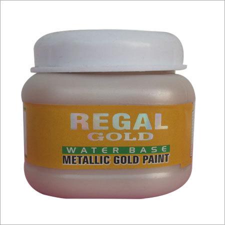 Water Base Metallic Gold Paint