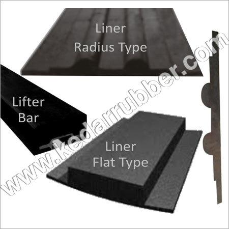 Shell Plate Rubber Liner