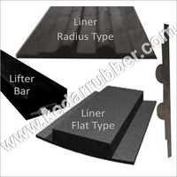 Shell Plate Rubber Liner