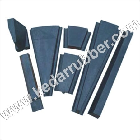 Side Triangle Rubber Liner