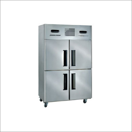 Stainless Steel Four Door Fridge