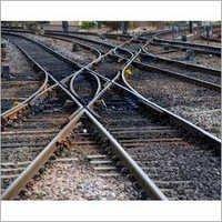 Railway Crossover Track