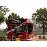 Kiosk Branding Services