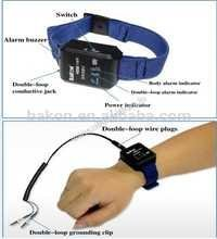 ESD Wrist Strap with Cord Ground Alarm