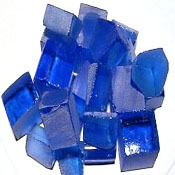 Synthetic Blue Sapphire Rough
