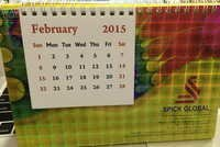 Holographic Film For Calendars