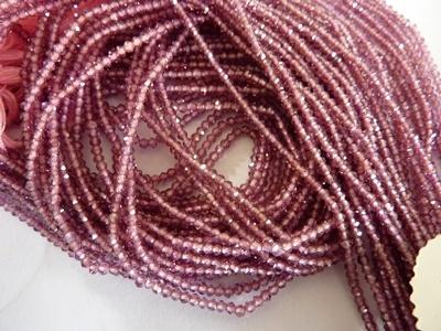 Rhodolite Garnet Beads