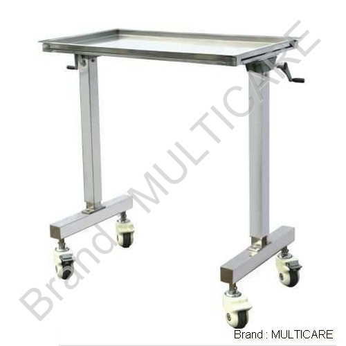 OT Instrument (Mayo's Trolley Over The OT Table ( Mechanically)