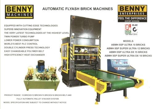 12 Bricks Fly Ash Making Machine