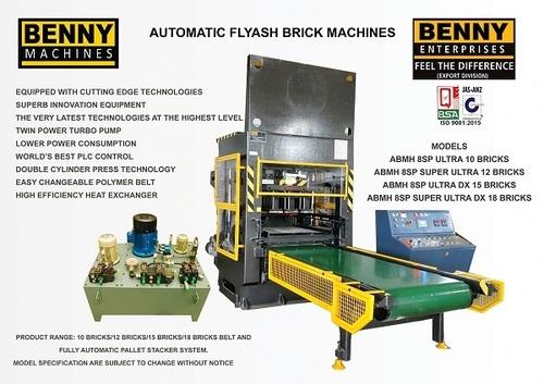 Automatic Fly Ash Brick Making Machine Belt Type