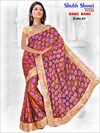 Border Printed Saree