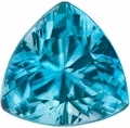 Blue Zircon Cut Stone