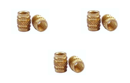 Groove Brass Inserts