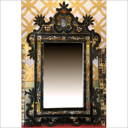 Mughal Texture Finish Mirror